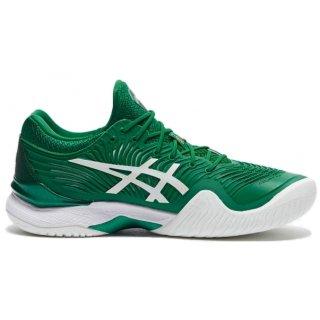 Asics Men's Court FF Novak Tennis Shoes (Kale Green/White)